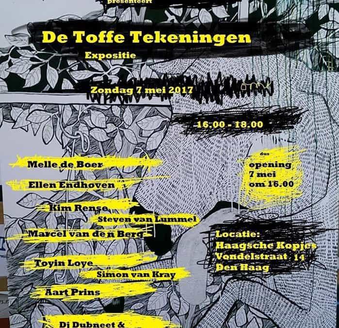 De Toffe Tekeningen Expositie