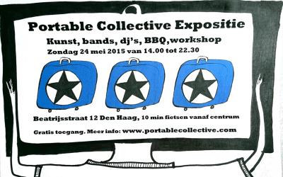 Portable Collective Expositie Beatrijsstraat 12